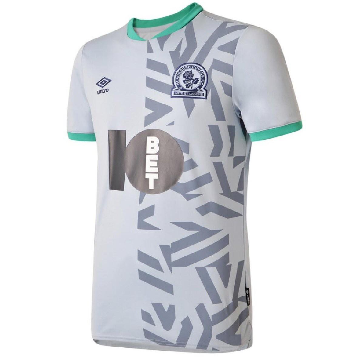 Blackburn Rovers Umbro Men S Away Football Shirt 2019 2020 Football Fan Uk