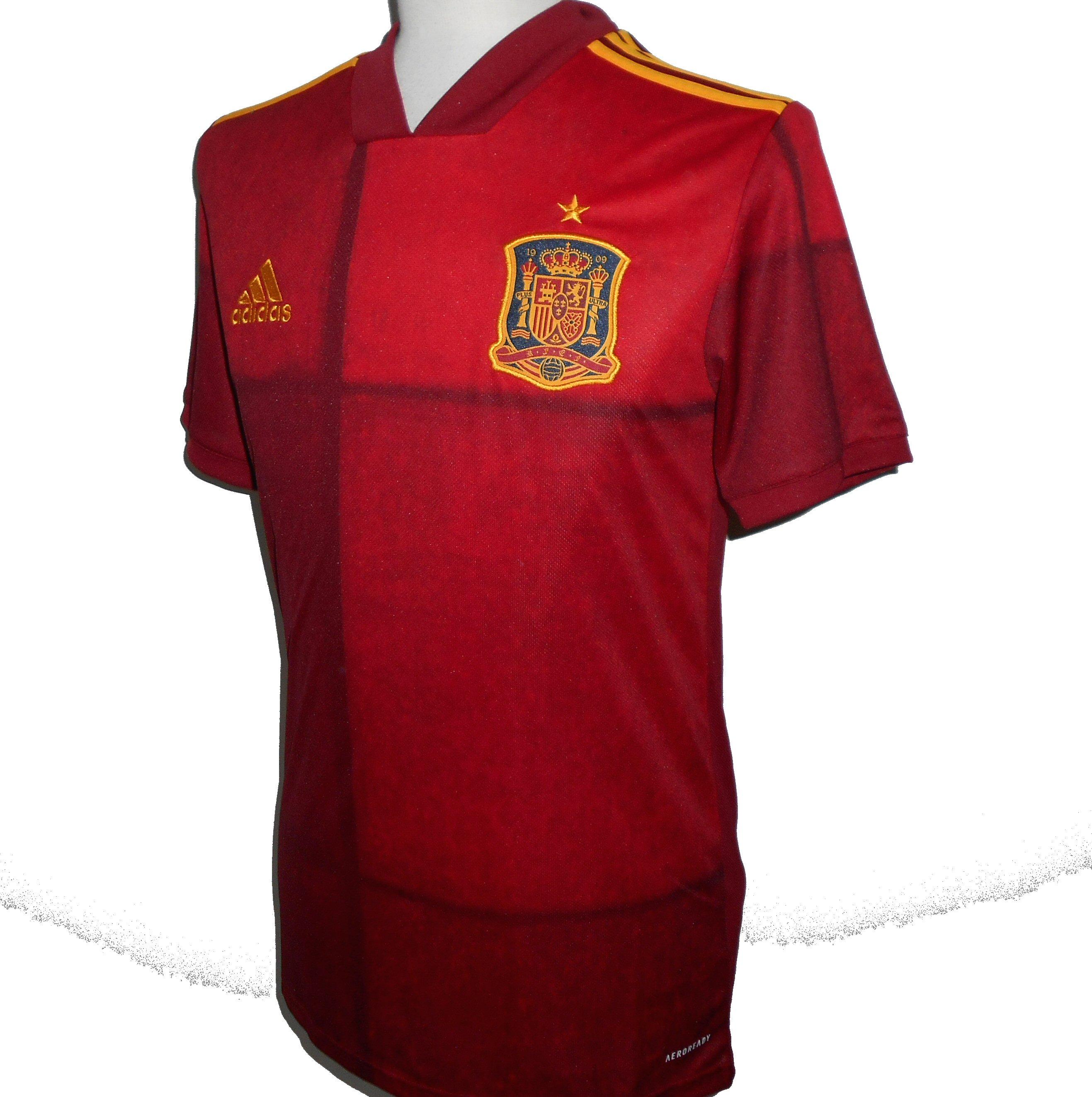 SPAIN Adidas Home Football Shirt 2020-2021