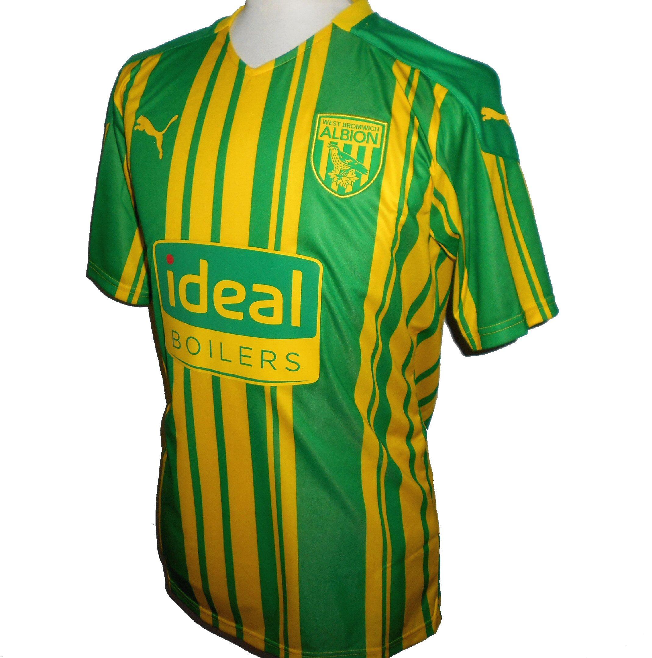 West Bromwich Albion Puma 2020-2021 WBA Away Football Shirt